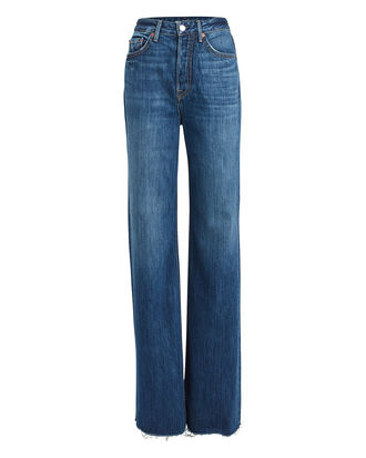 Carla Wide Leg Jeans, DENIM, hi-res
