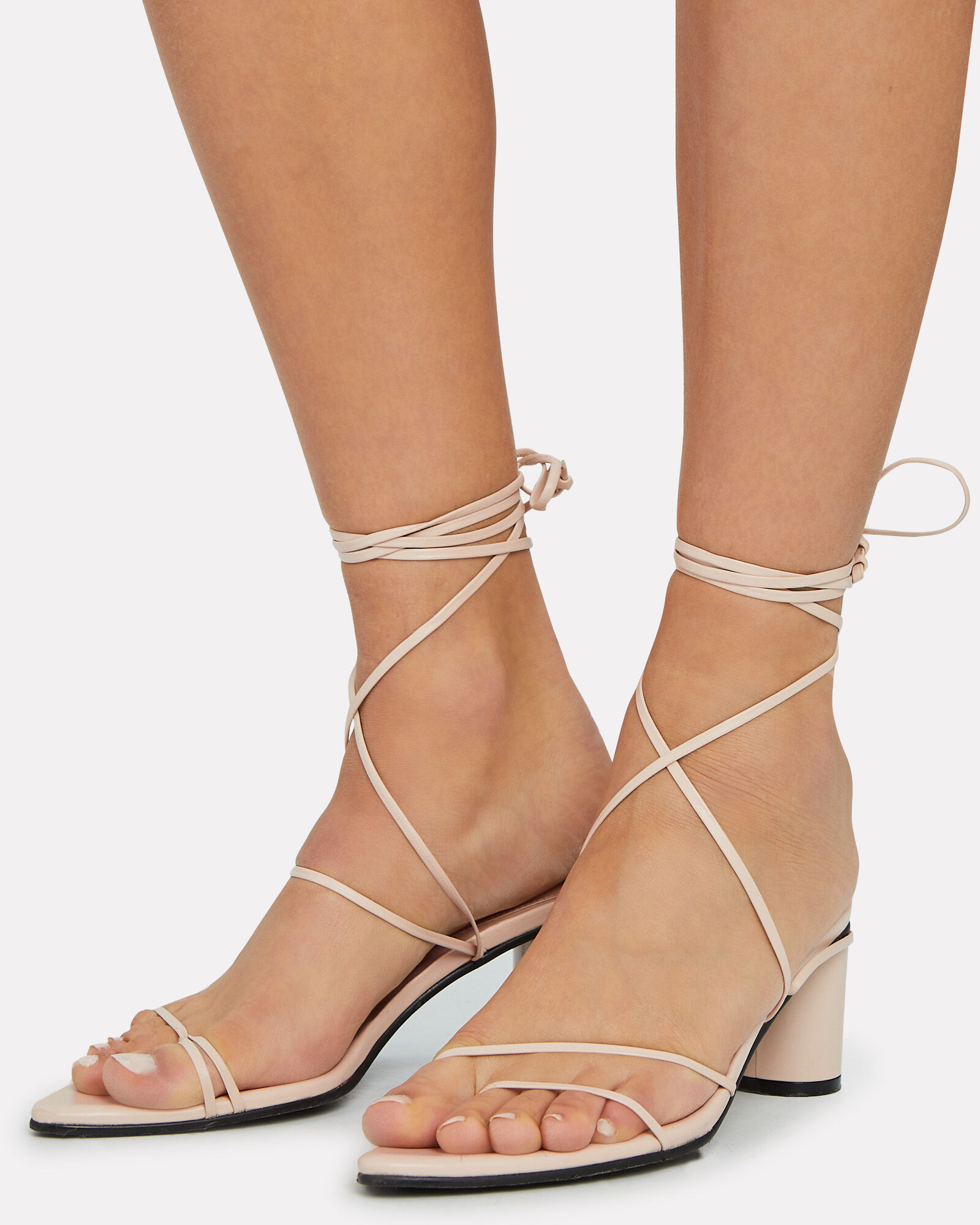 Odd Pair Strappy Sandals, IVORY, hi-res