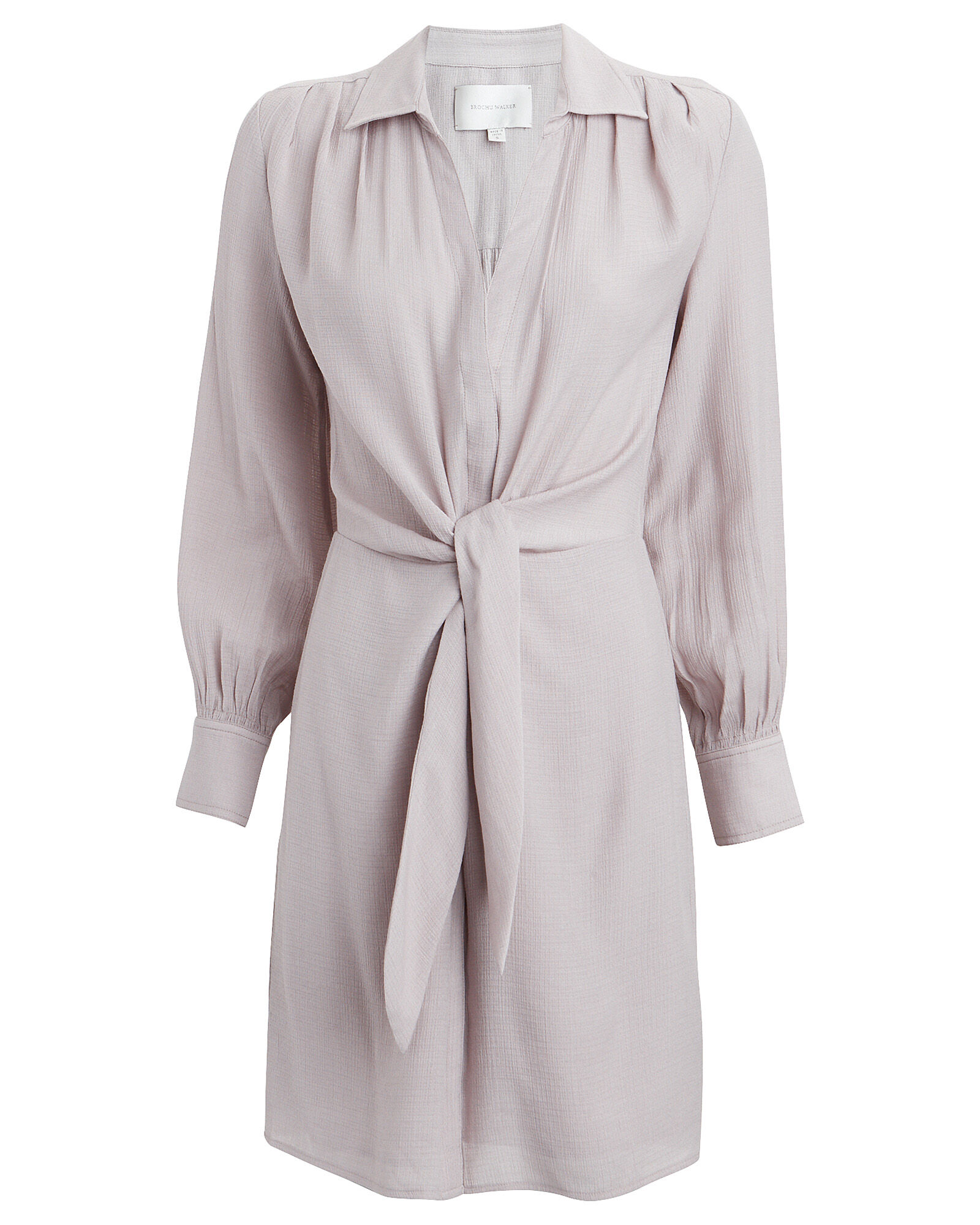 Madsen Melange Shirt Dress, DUSTY MAUVE, hi-res