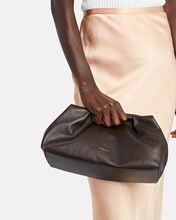 Florence Soft Leather Pouch, BROWN, hi-res