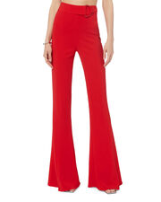 Carina Flare Red Pants, RED, hi-res