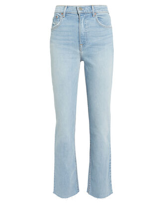 Reed Boot Cropped Jeans, DENIM, hi-res