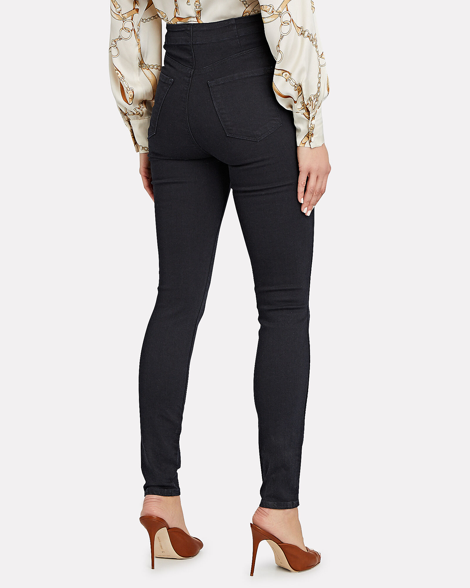 Natasha Sky High Skinny Jeans, DENIM-DRK, hi-res