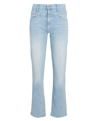 The Dazzler Yoke Front Ankle Jeans, LOTS OF FREE HUGS, hi-res