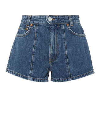 Seventies AF Pintuck Shorts, DENIM-DRK, hi-res