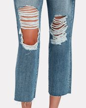 Adele Distressed Stovepipe Jeans, FALLBROOK, hi-res