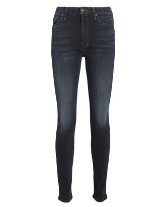 The Looker High-Waist Skinny Jeans, DARK INDIGO DENIM, hi-res