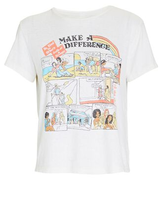 Make A Difference Classic T-Shirt, IVORY, hi-res