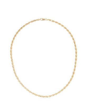 Vermeil Rope Chain Necklace, , hi-res