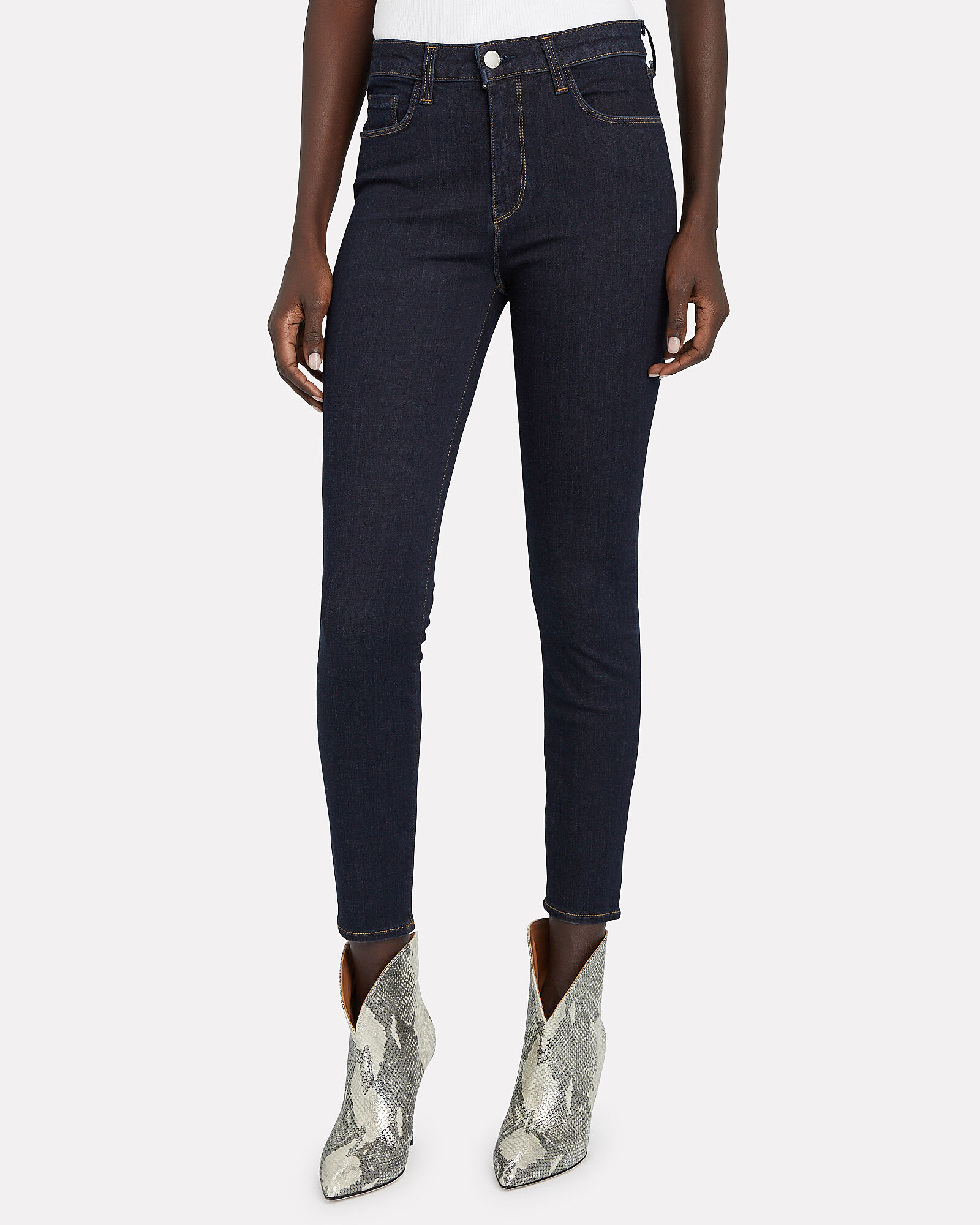 Margot High-Rise Skinny Jeans, DENIM-DRK, hi-res