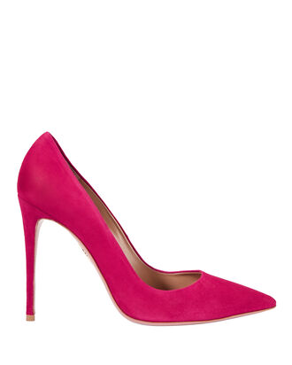 Simply Irresistible Pink Suede Pumps, PINK, hi-res