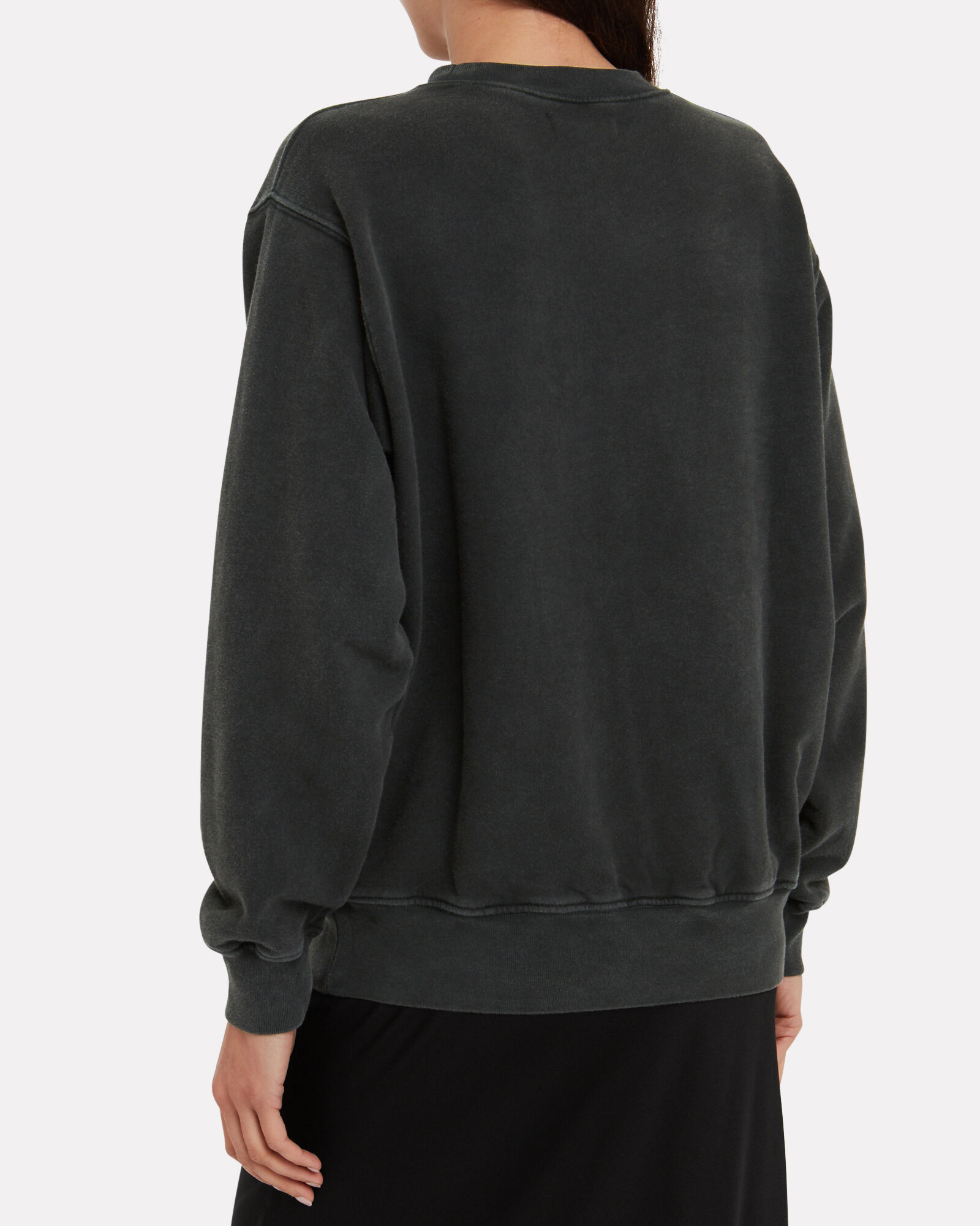 Ramona Printed Sweatshirt, BLACK, hi-res