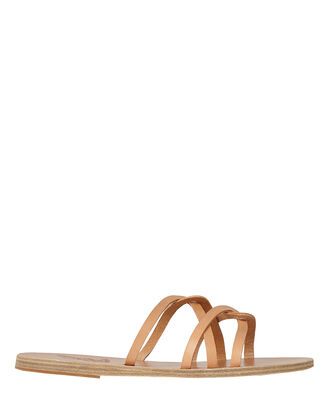 Revekka Braided Leather Sandals, BEIGE, hi-res