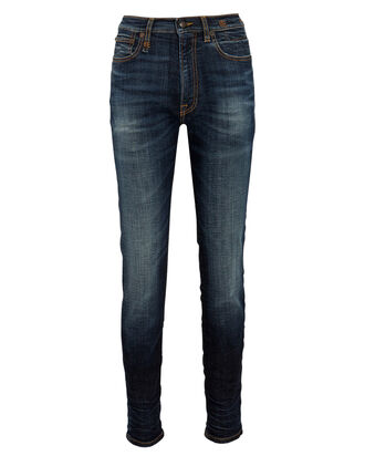 High-Rise Skinny Jeans, Howell Indigo, hi-res