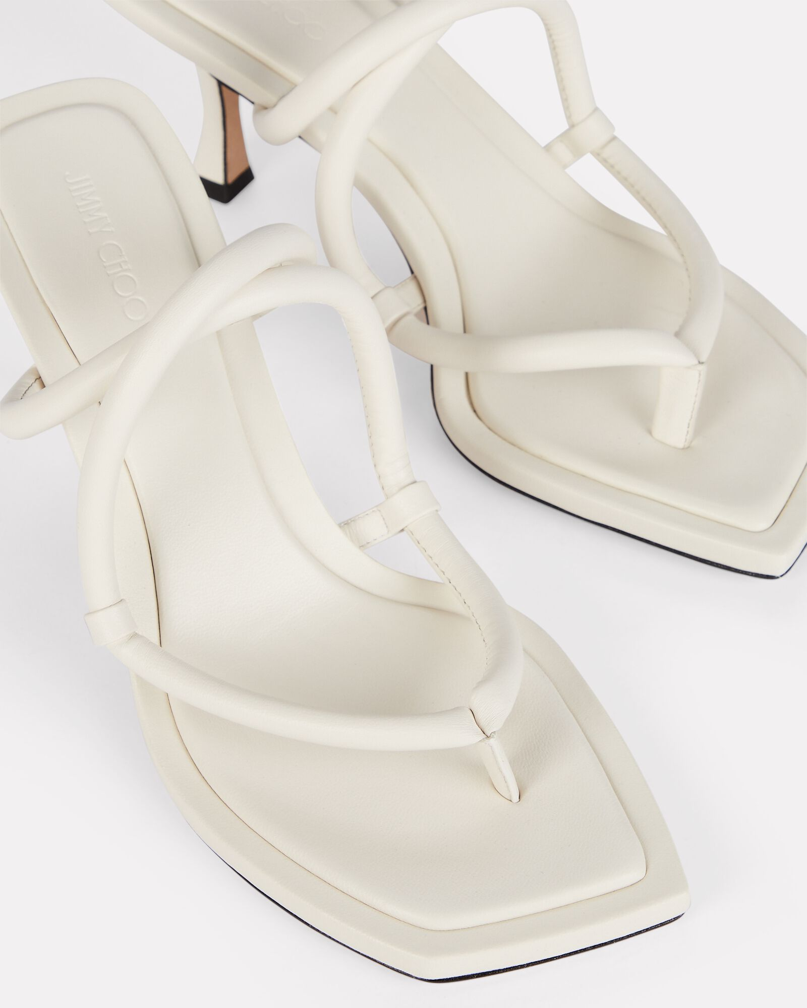 Cape 70 Leather Thong Sandals, IVORY, hi-res