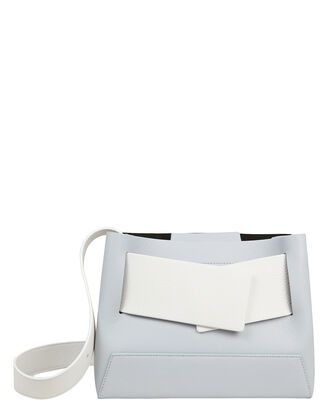 Biggy Shoulder Bag, WHITE/LIGHT BLUE, hi-res