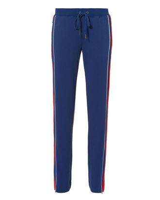 Colorblocked Track Pants, BLUE-MED, hi-res