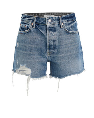 Helena Denim Shorts, MEDIUM WASH DENIM, hi-res