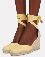 Carina 80 Espadrille Wedges, YELLOW, hi-res