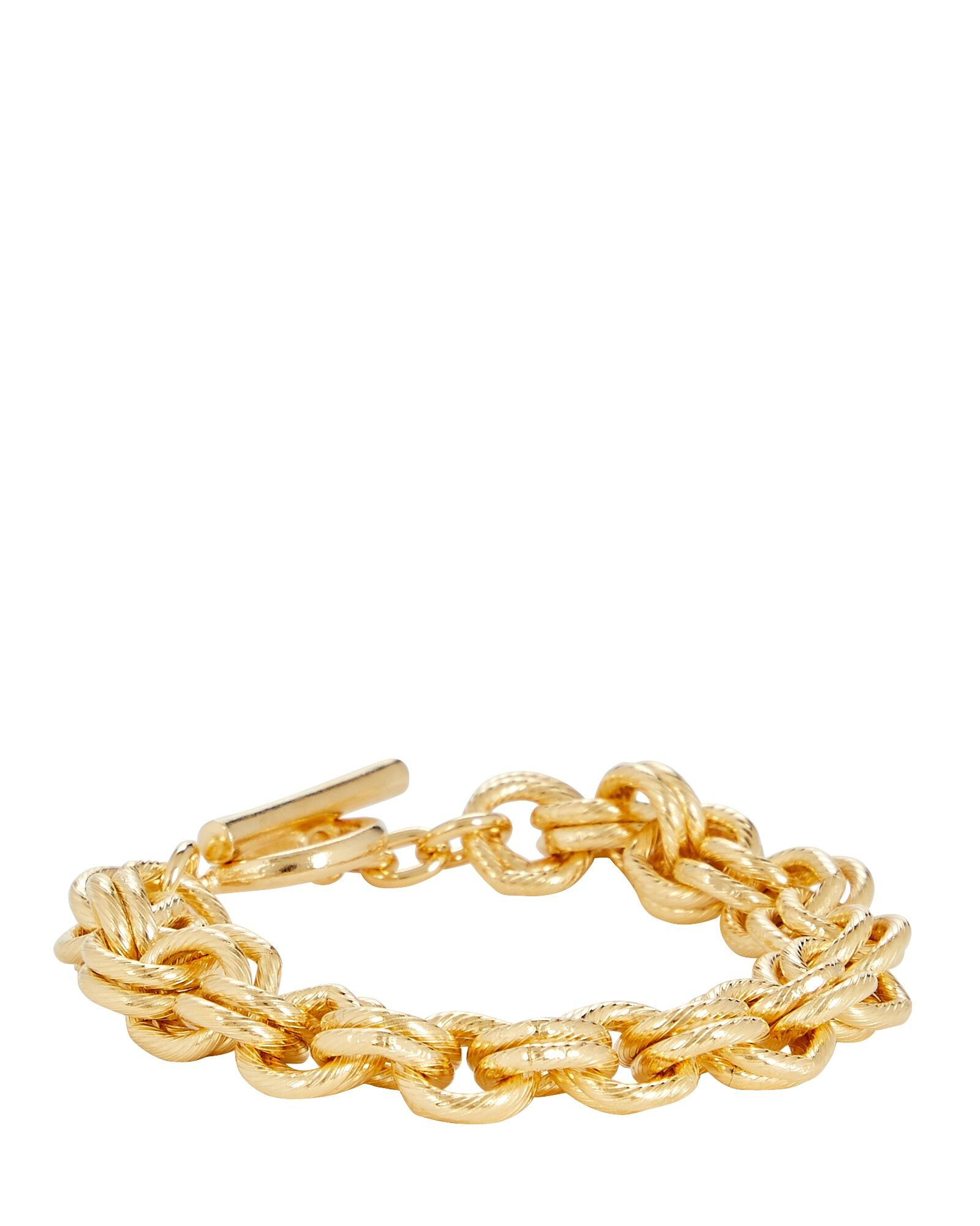 Multi Chain-Link Bracelet, GOLD, hi-res