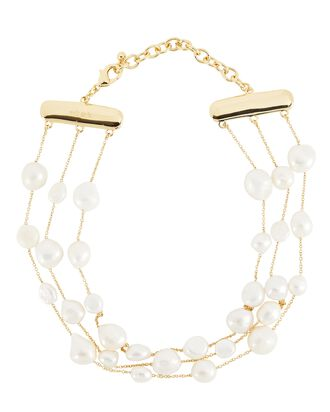 Nayla Pearl Choker Necklace, IVORY, hi-res