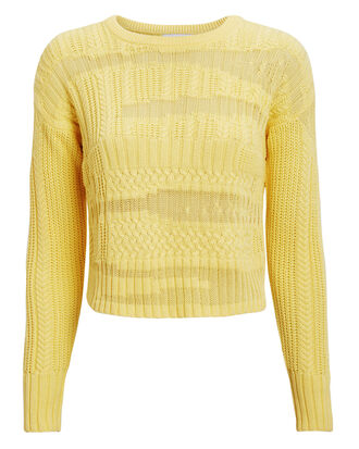 Leilani Sweater, YELLOW, hi-res