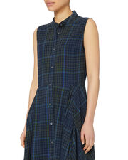 Casside Plaid Dress, PLAID, hi-res