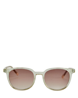 Nomad Shimmer Square Sunglasses, ICE BLUE, hi-res