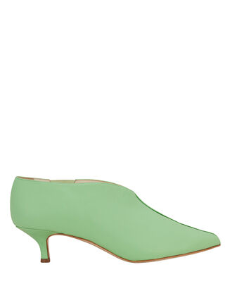 Joe Kitten Heel Booties, MINT GREEN, hi-res
