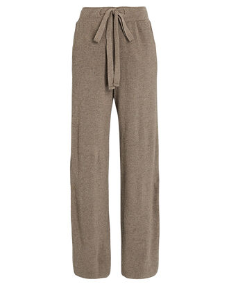Oni Wide-Leg Knit Pants, BEIGE, hi-res