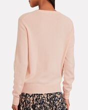 Imperfect Cashmere Crewneck Sweater, PINK, hi-res