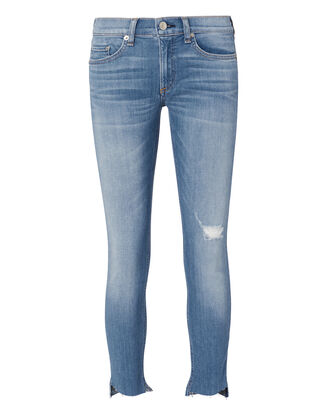 Sunset Capri Step Hem Jeans, DENIM, hi-res