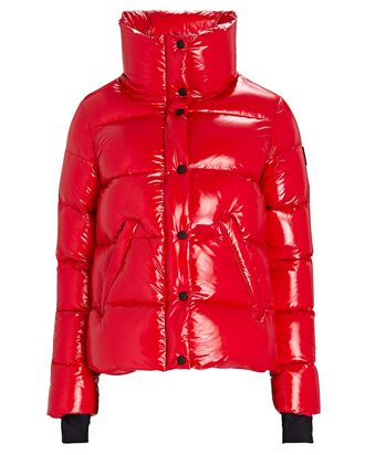 Isabel Down Puffer Jacket, RED, hi-res