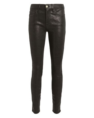 Le Skinny Leather Pants, BLACK, hi-res
