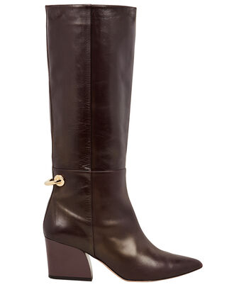 Rowan Calf-High Leather Boots, PURPLE-DRK, hi-res