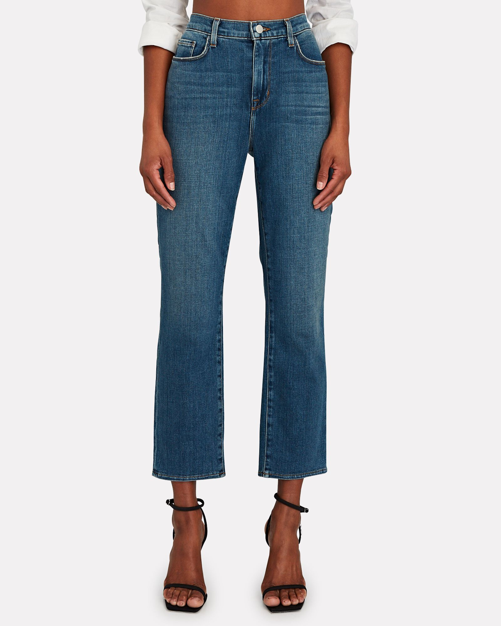 Shane Straight-Leg Jeans, AUTHENTIQUE, hi-res