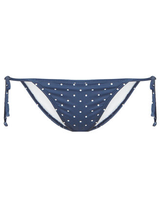 Bauta Side Tie Bikini Bottoms, NAVY, hi-res