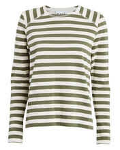 Striped Jersey Crewneck Top, MULTI, hi-res