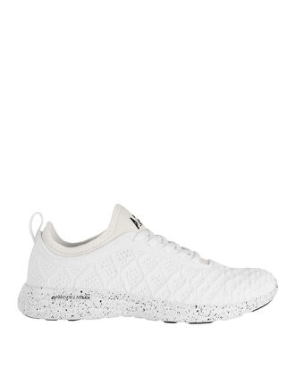 Techloom Phantom Speckled Low-Top Sneakers, WHITE, hi-res