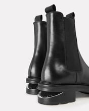 Andy Chelsea Leather Bootie, BLACK, hi-res