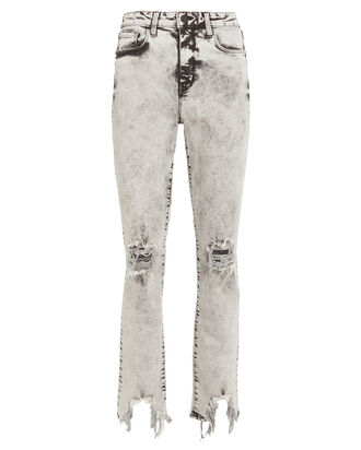 Highline Skinny Jeans, ACID WASH BLACK, hi-res