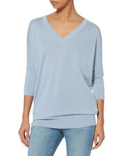 Core Grey Batwing Sweater, GREY, hi-res