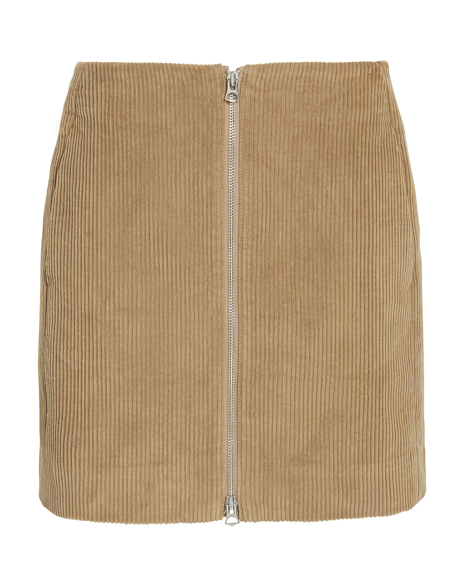 Heidi Corduroy Mini Skirt, BROWN, hi-res