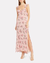 Sally Floral Slip Dress, MULTI, hi-res
