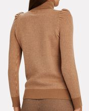 Kim Puff Sleeve Turtleneck Sweater, BEIGE, hi-res