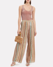 Sequin Wide Leg Pants, MULTI, hi-res