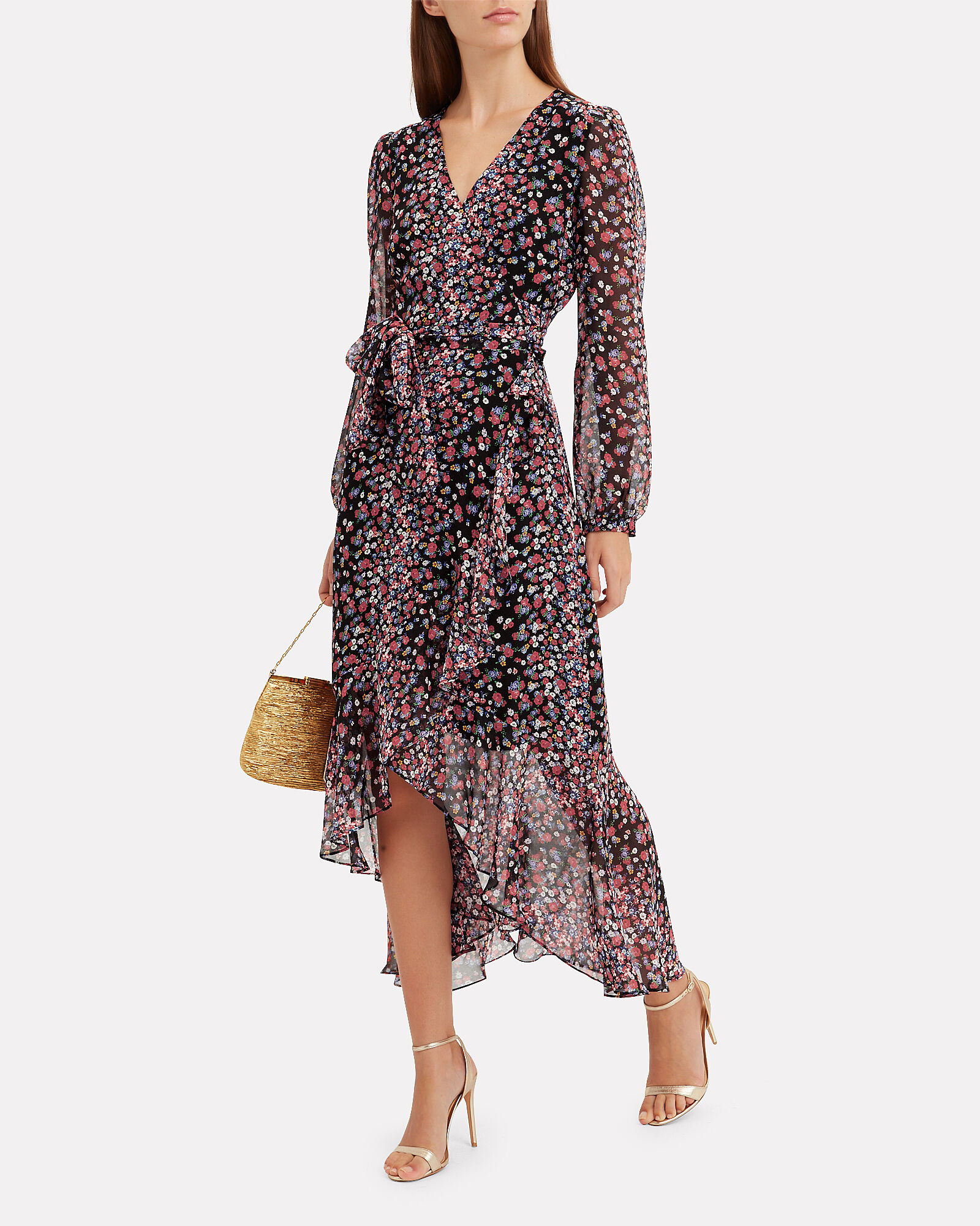Sybil Floral Dress, MULTI, hi-res