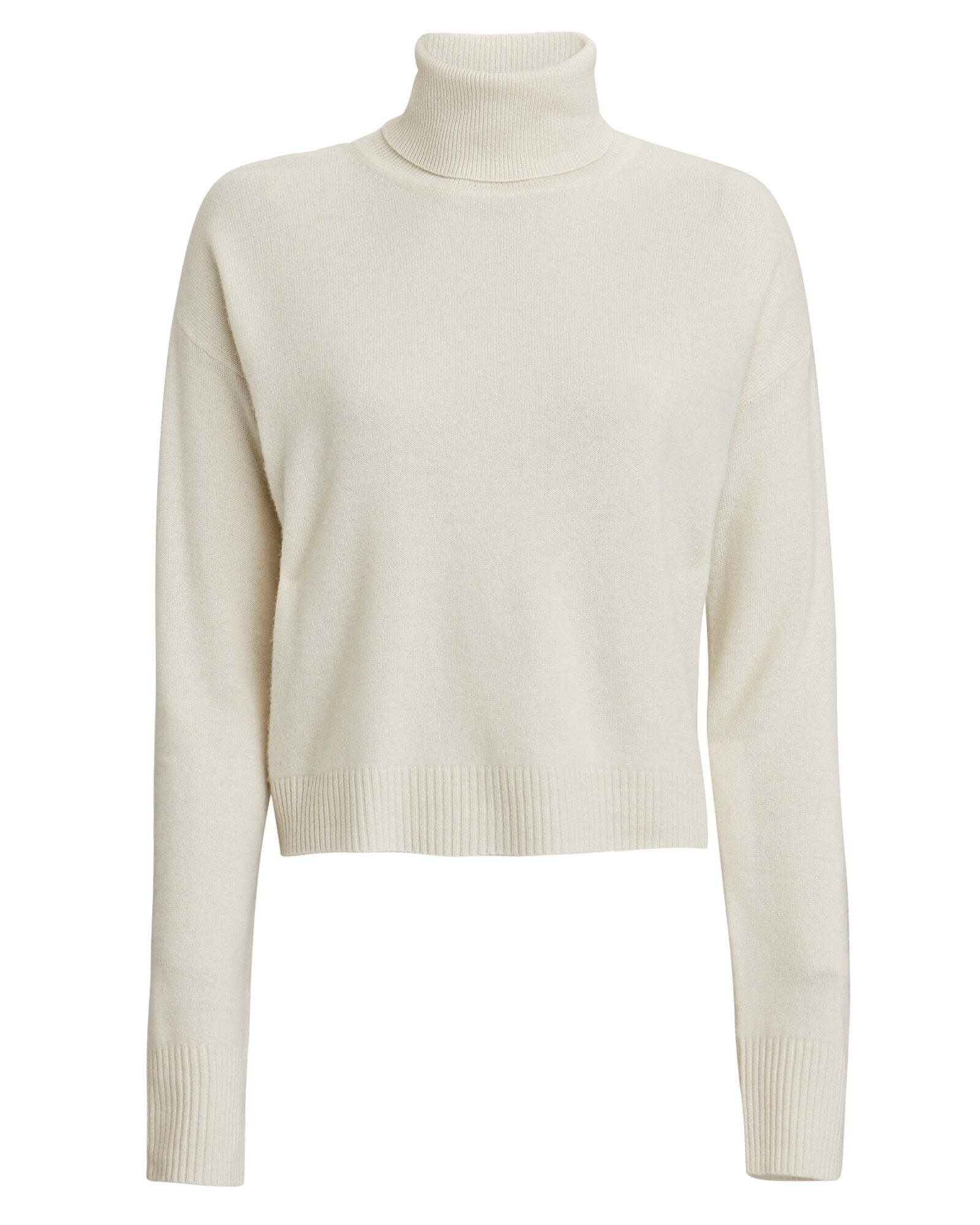 Bailey Cashmere Turtleneck Sweater, WHITE, hi-res