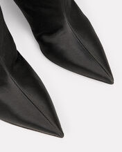 Alex Satin Ankle Boots, BLACK, hi-res