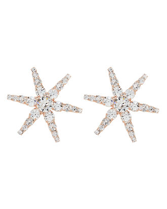 Polaris Crystal Earrings, ROSE GOLD, hi-res